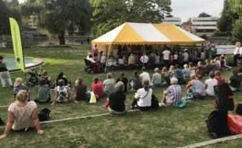 Valdebatt i Strömparken Norrköping
